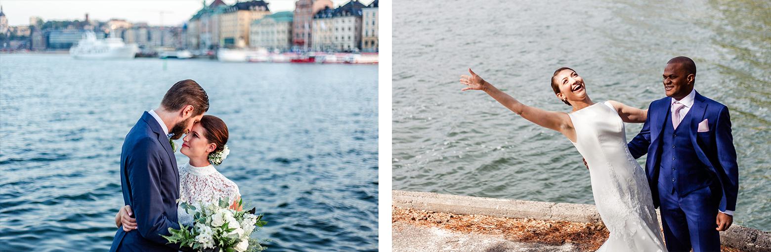Bröllopsfotografering Stockholm och Norrtälje