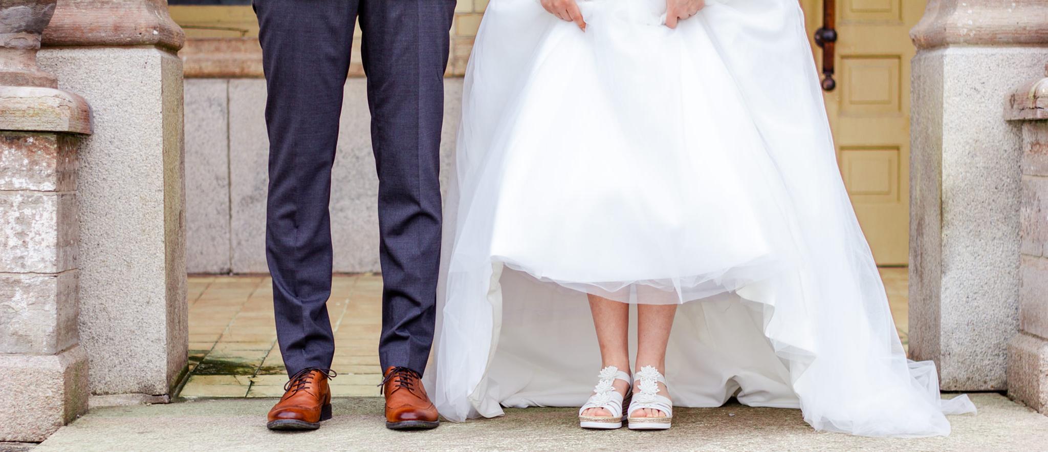 Bröllopsfotograf Jönköping bröllopsskor