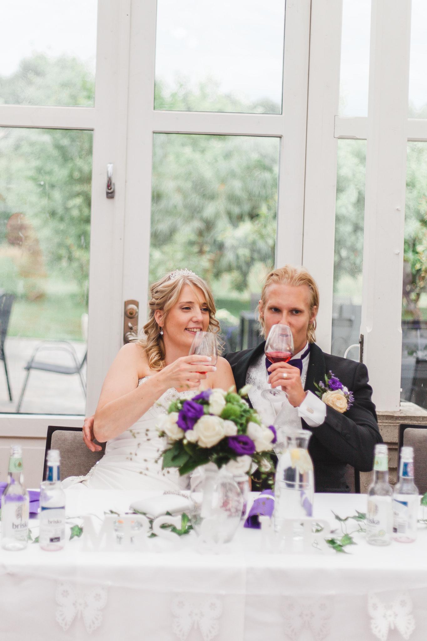 Bröllop på Rosängen orangeri i Örebro