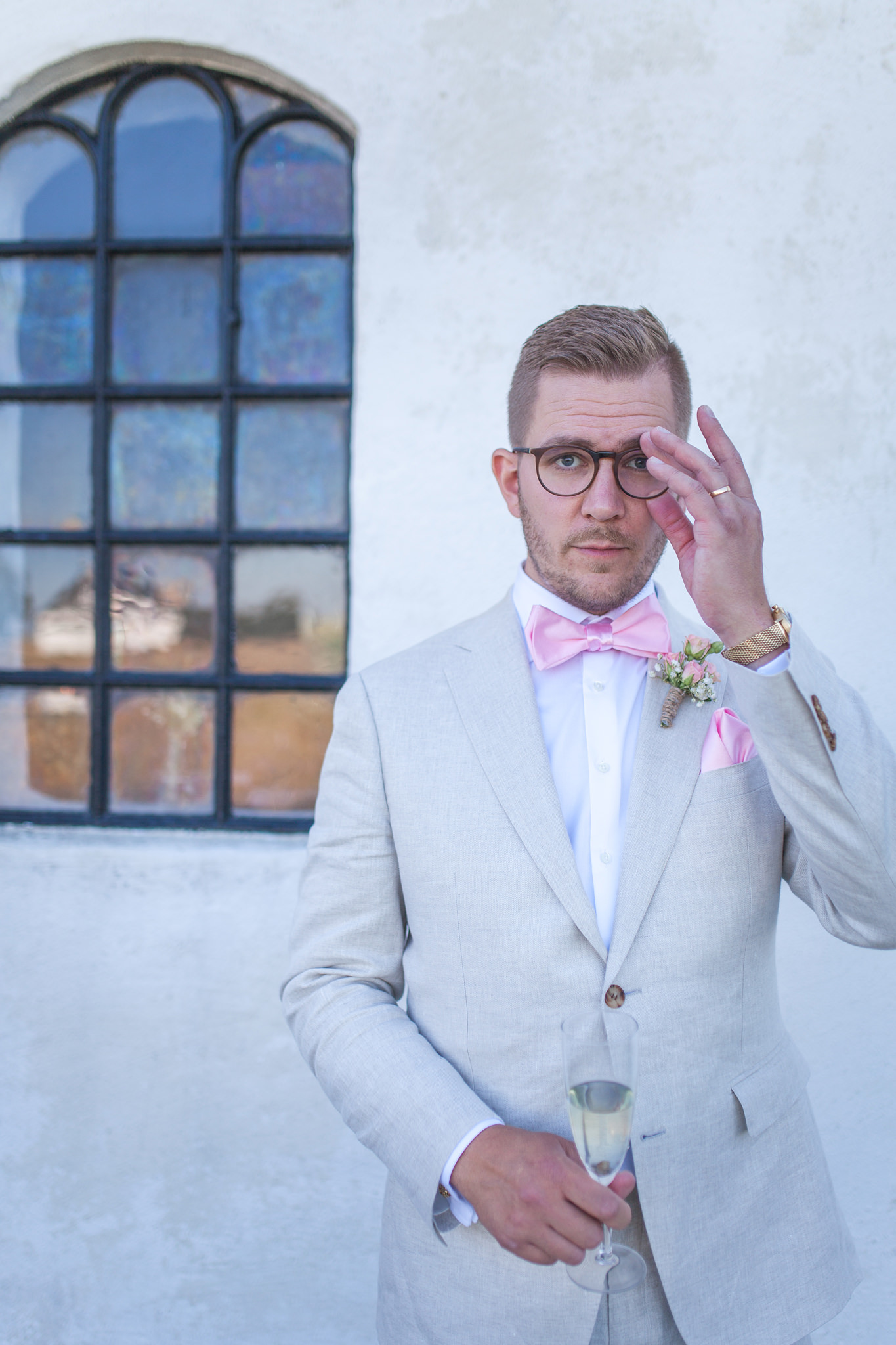 Bröllop på Holmanäs gård i Skåne