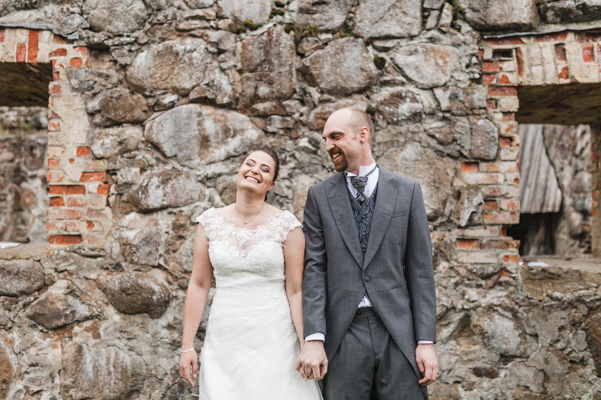 Bröllop i Kronobergs slottsruin Växjö