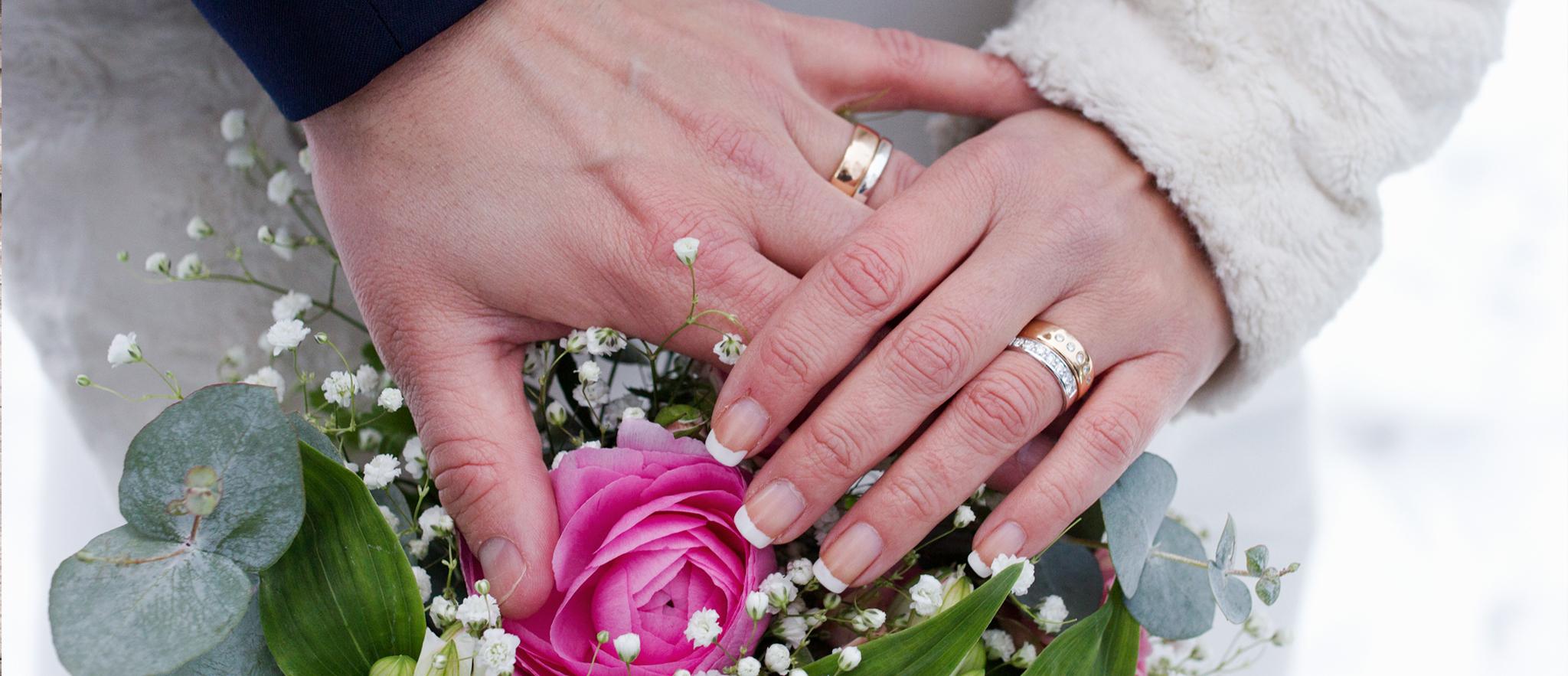 Vinterbröllop i Sävsjö Kulla Kapell