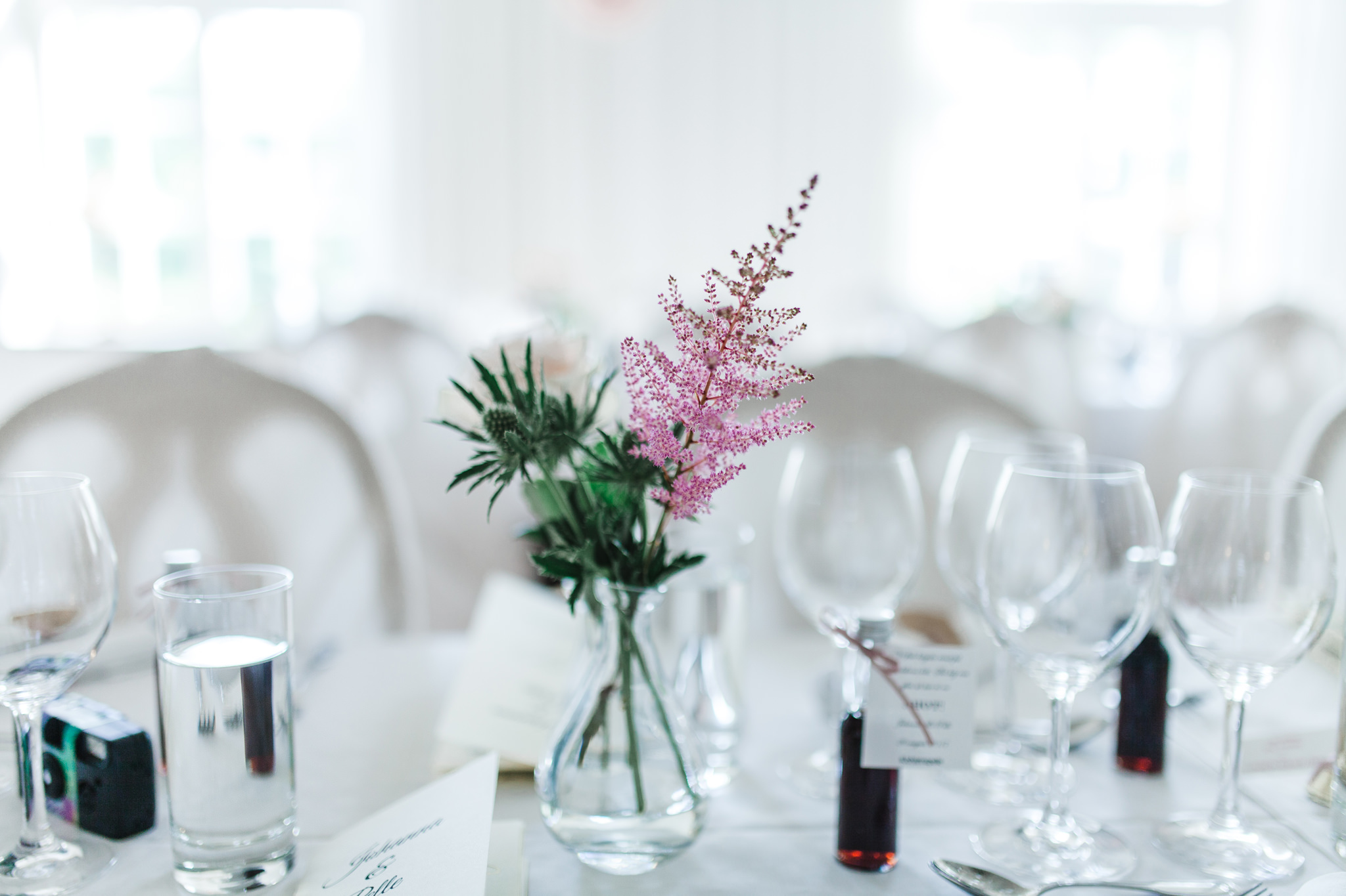 Bröllop på Blommenhof hotell i Nyköping
