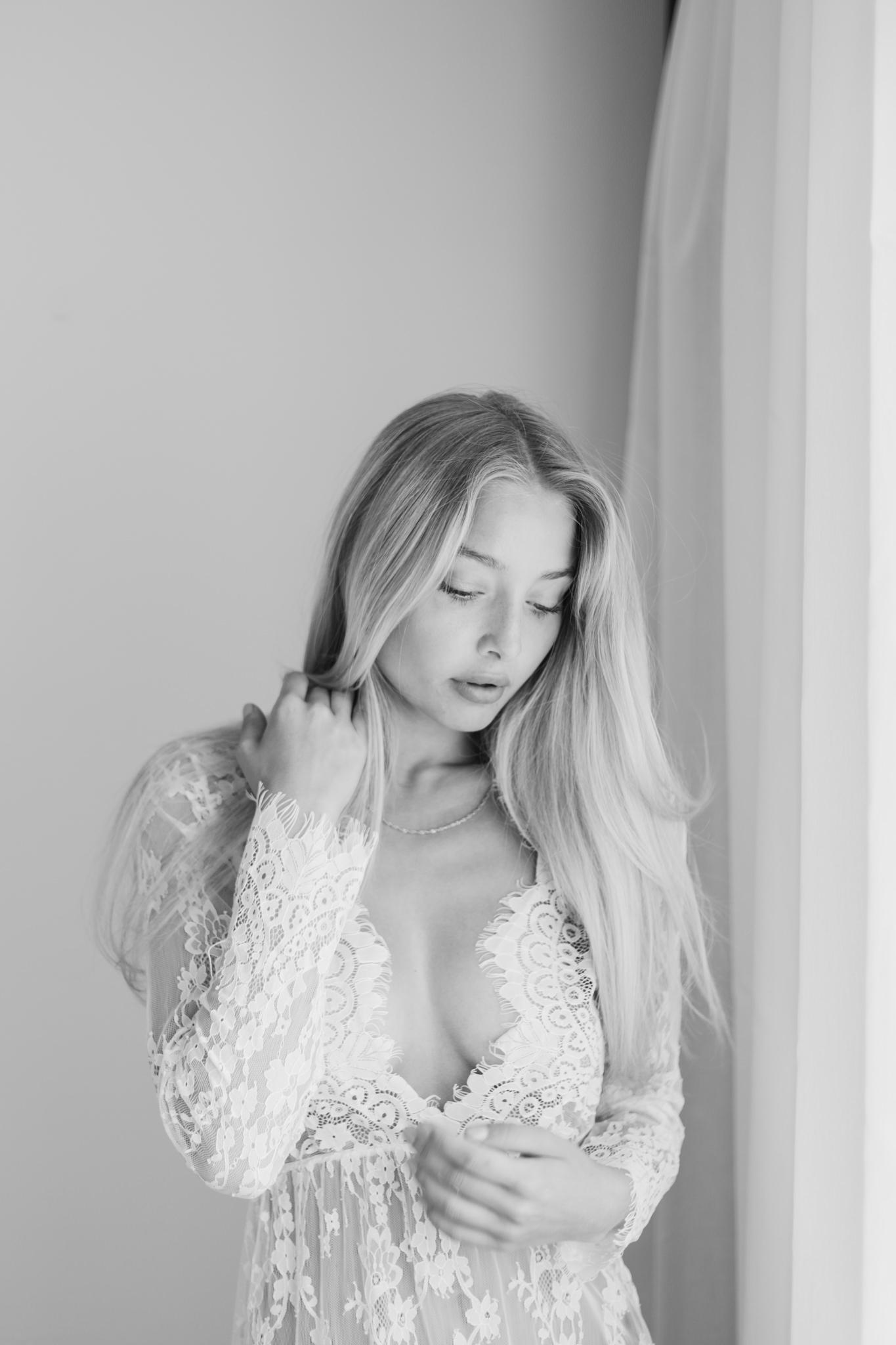 Boudoirfotograf i Stockholm