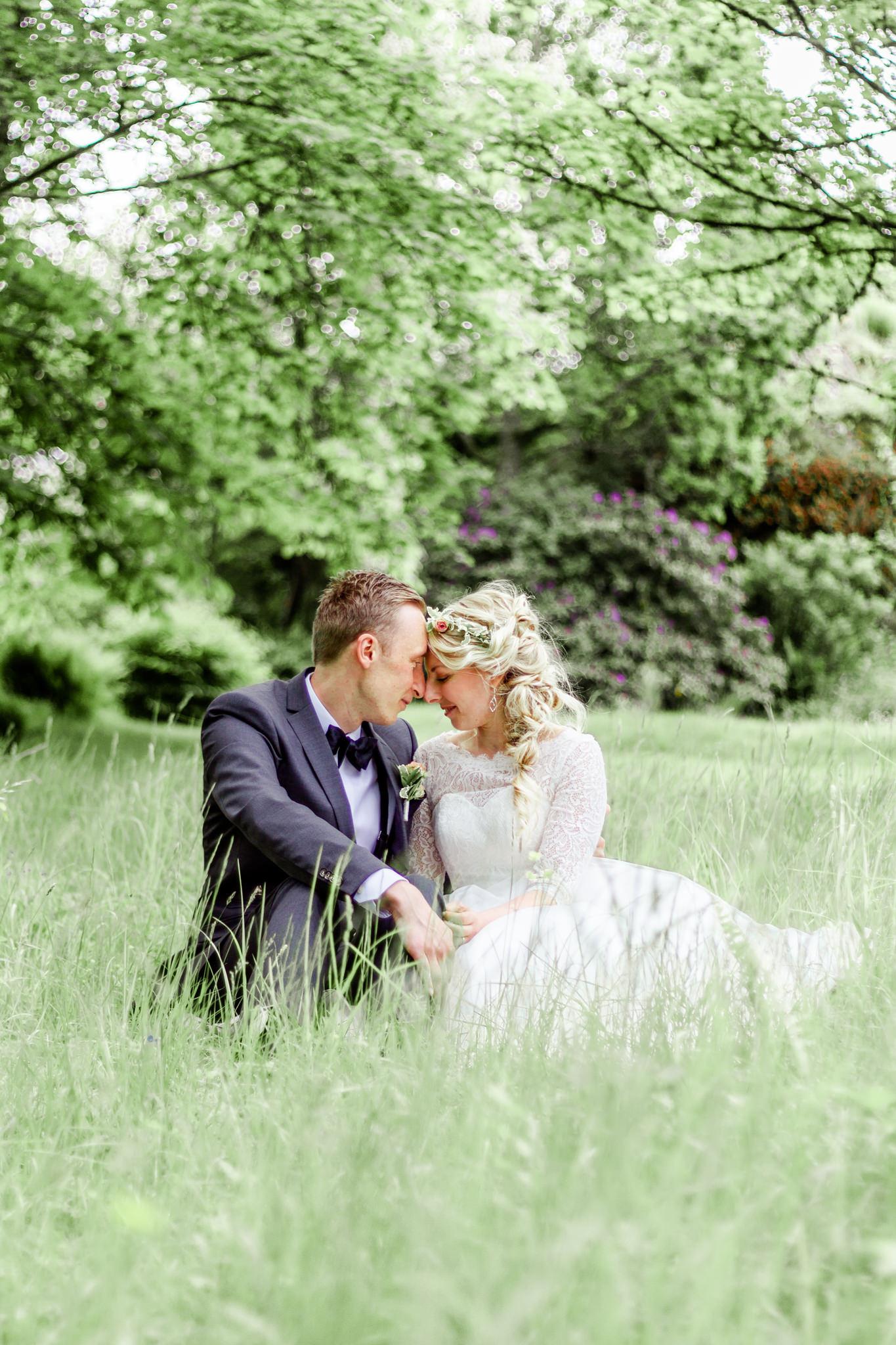 Bröllopsfotografering i Uddevalla vid Gustavsbergs societetshus