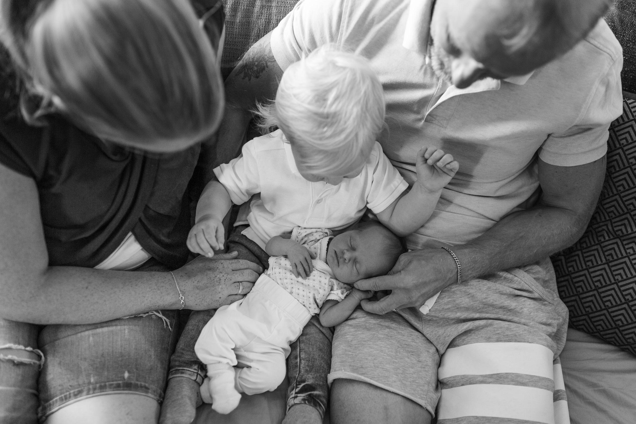 Nyföddfotografering i Eksjö