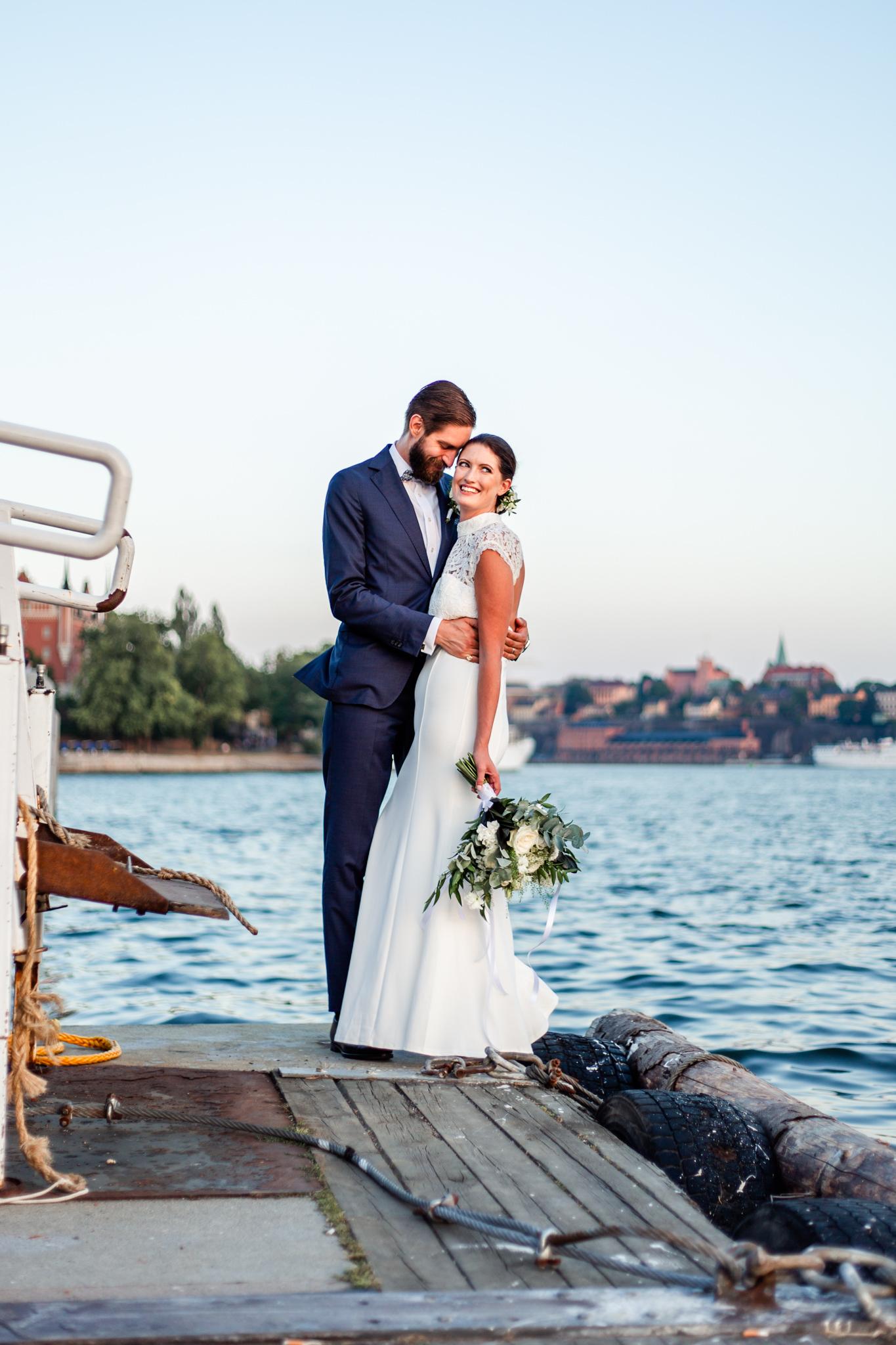 Bröllopsfotografering i Stockholm i samarbete med Sisters in Law