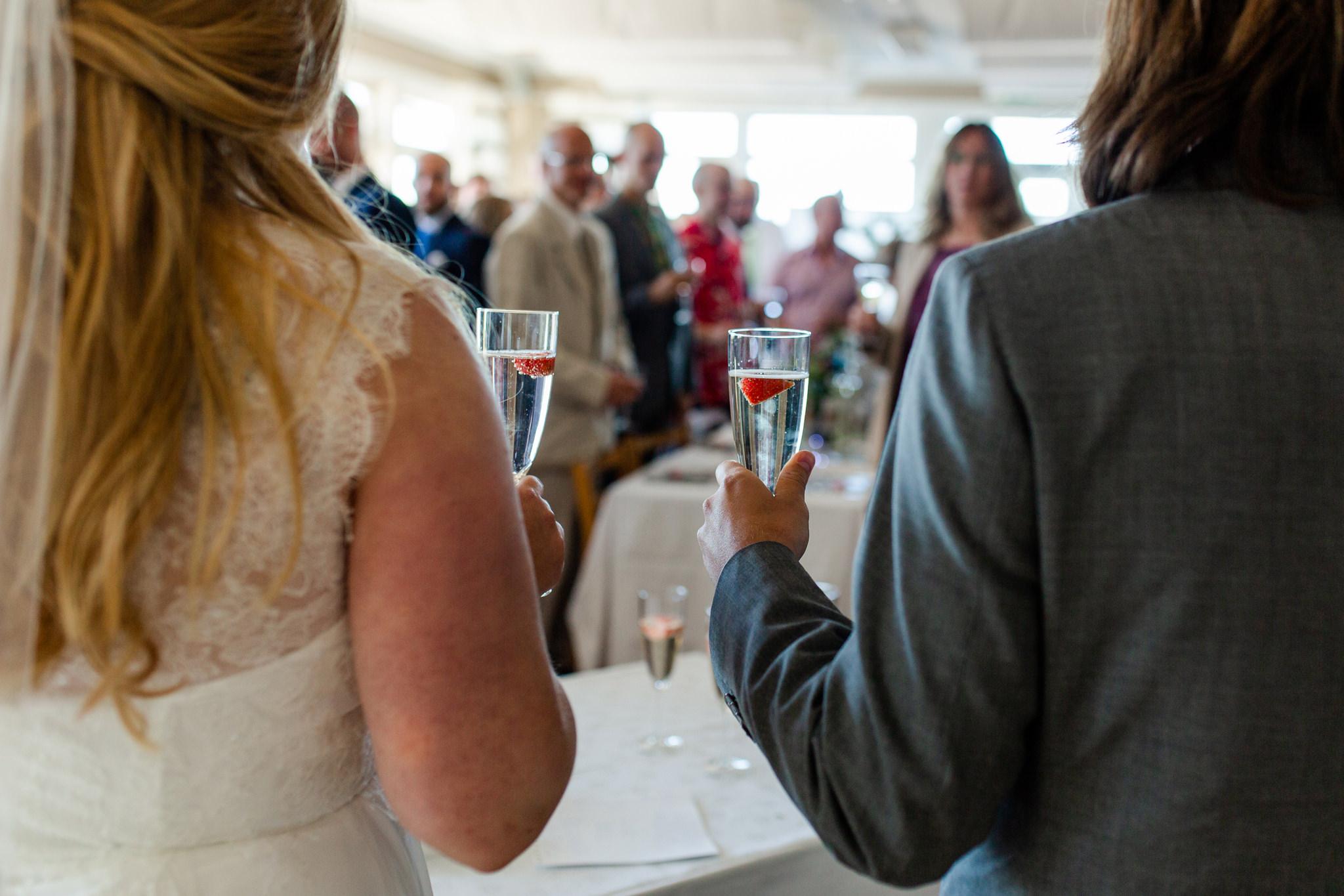 Bröllop på Herrängs Marina