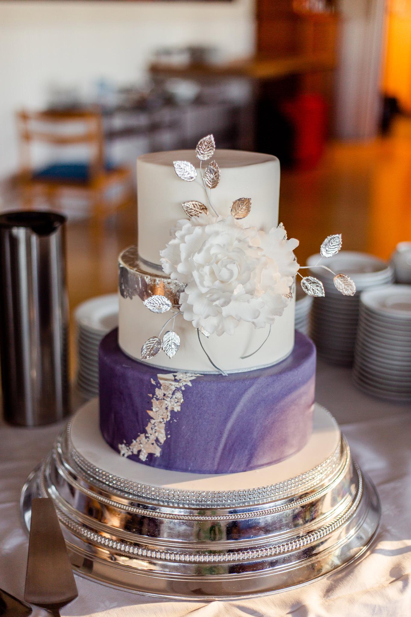 Bröllopstårta på Herrängs Marina