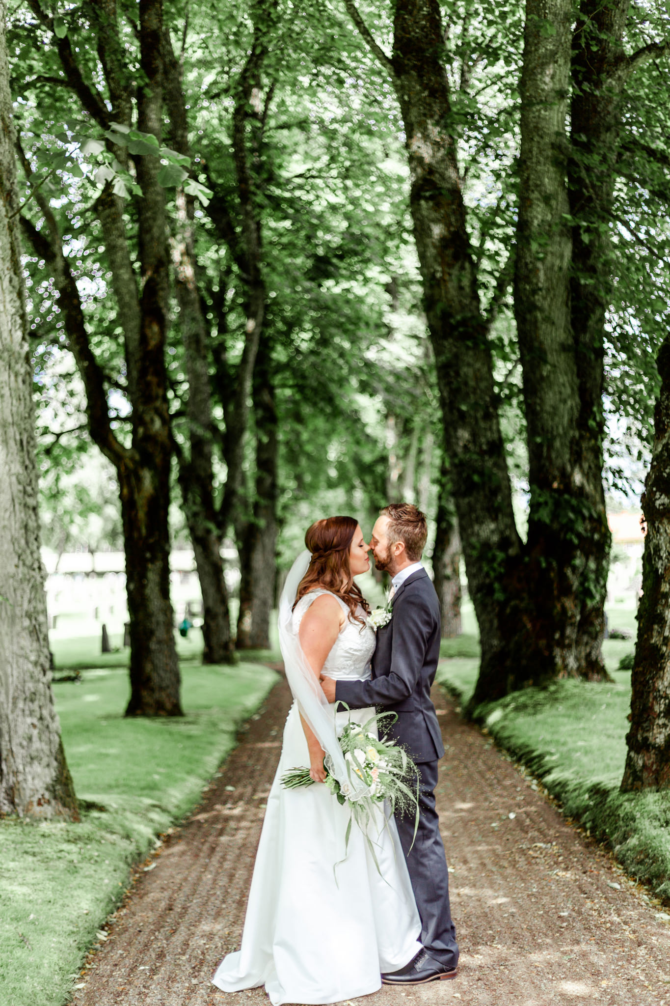 First look på bröllop i Norra Sandsjö