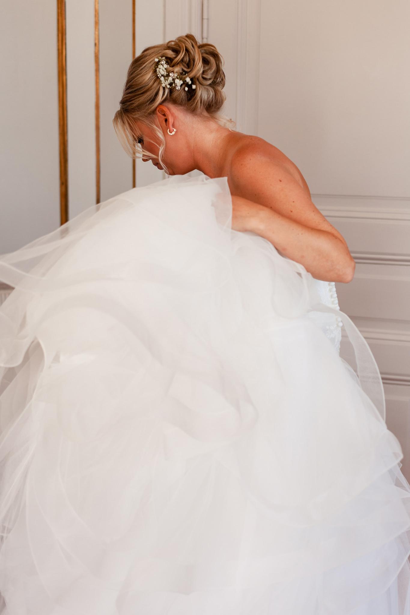 Bröllopsförberedelser på Mauritzberg Slott