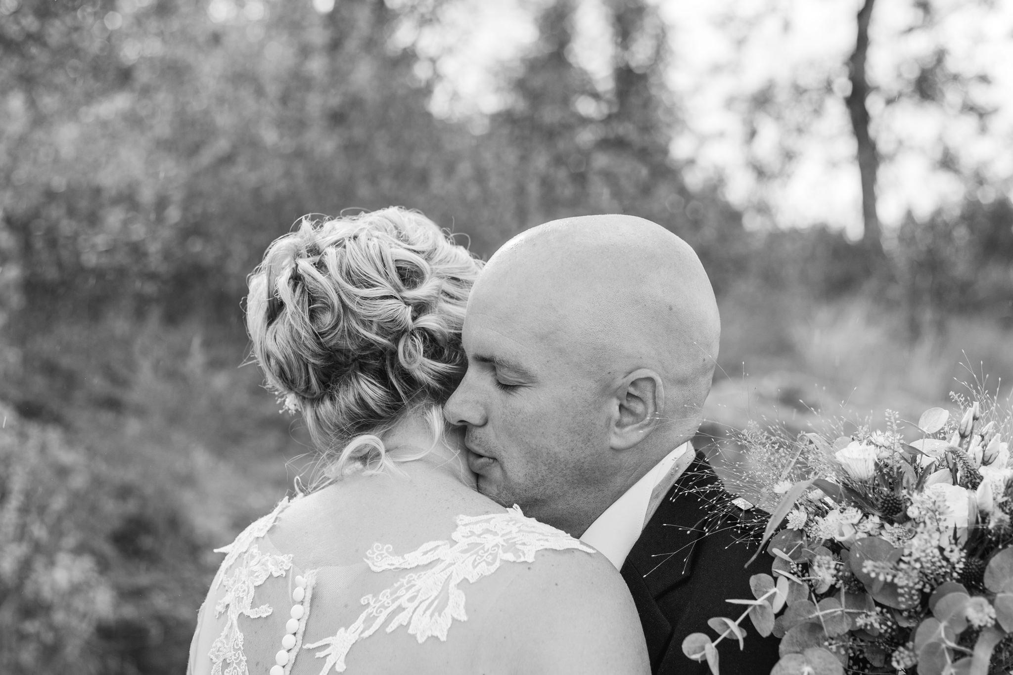 First look på bröllop på Mauritzberg Slott