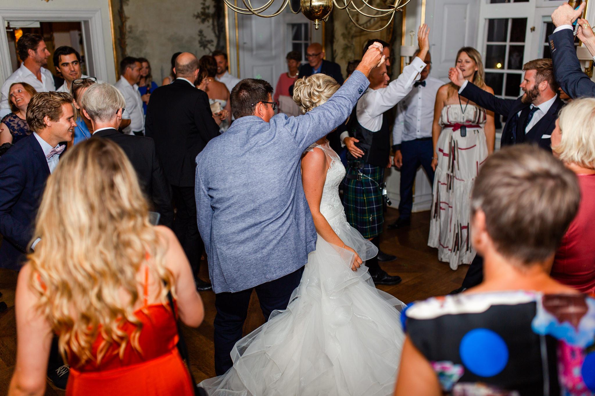 Bröllopsfest på Mauritzberg Slott
