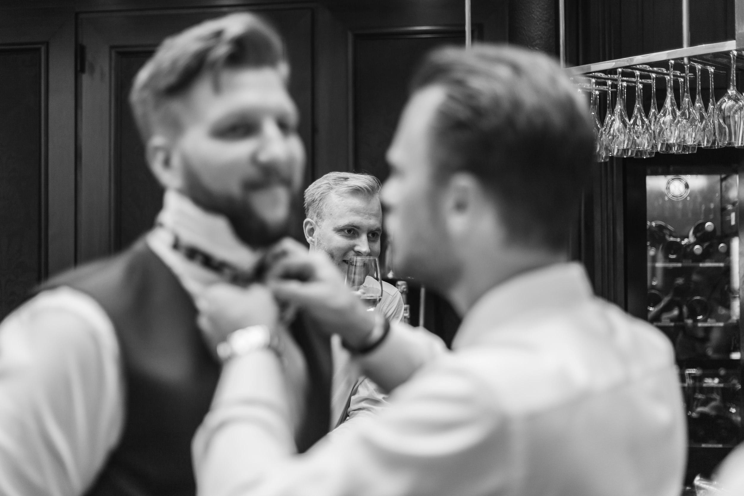 Bröllopsförberedelser på Hotell Kungsträdgården