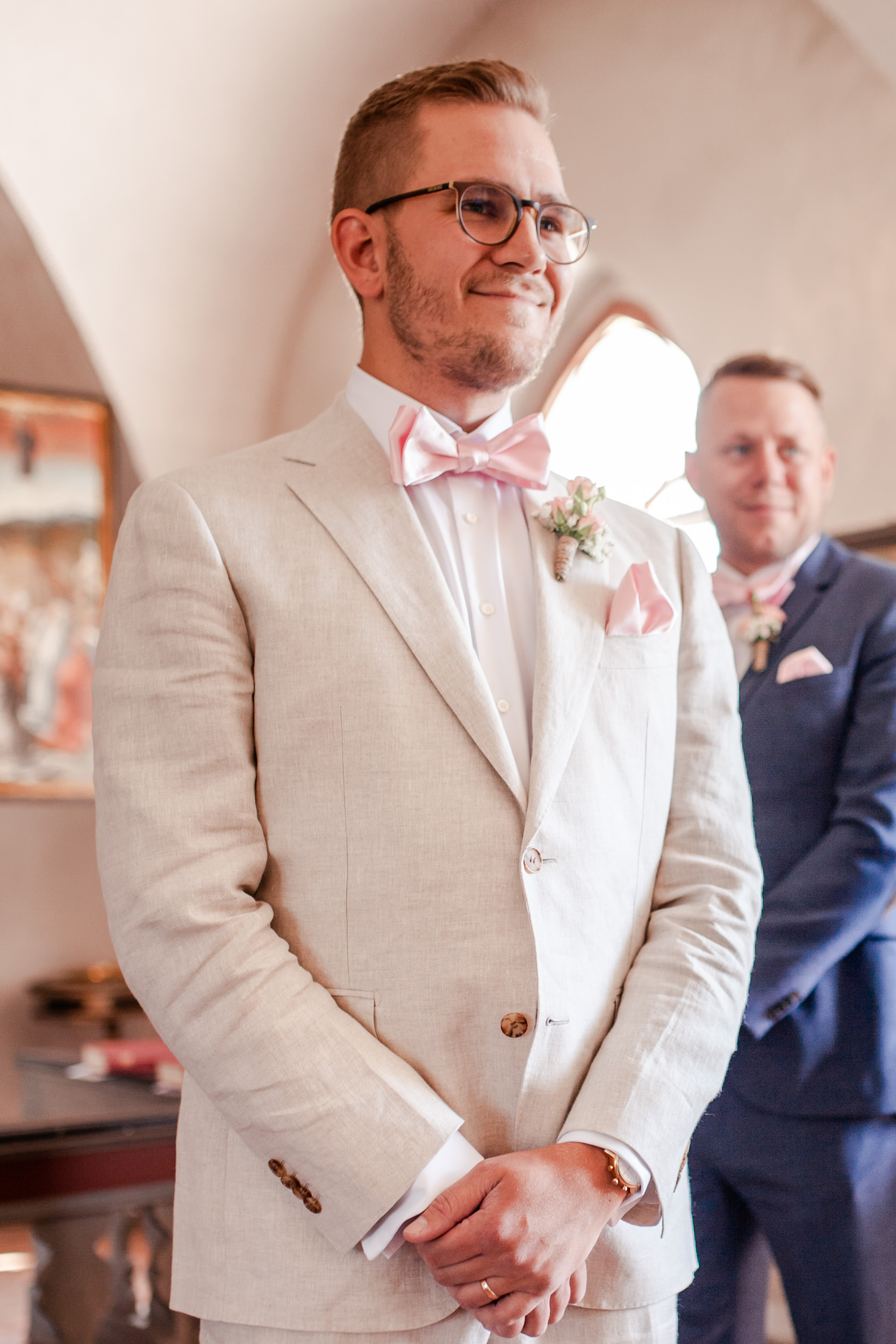 Bröllop i Vestra Ingelstad kyrka