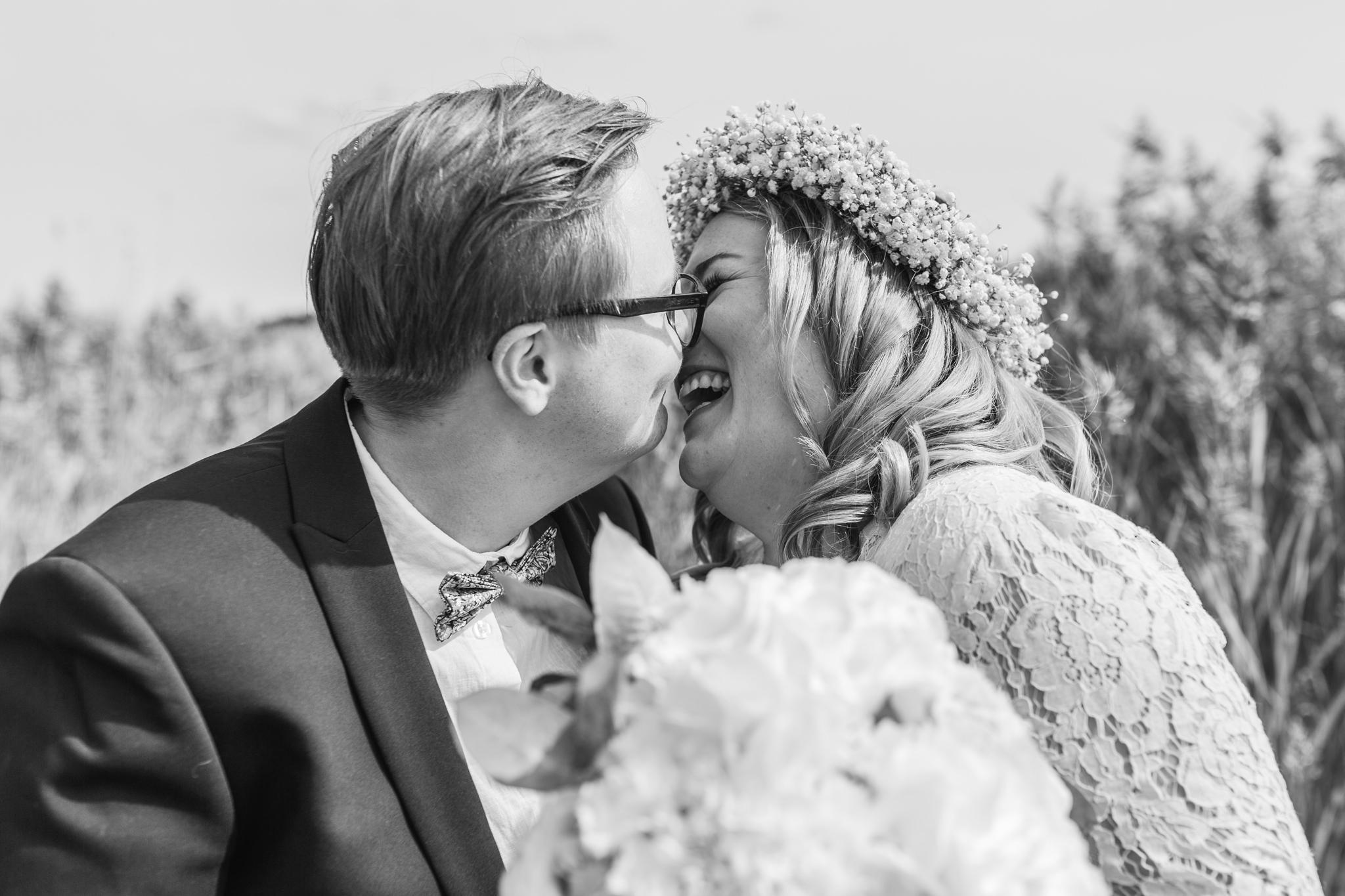 Bröllopsfotograf på samkönat bröllop