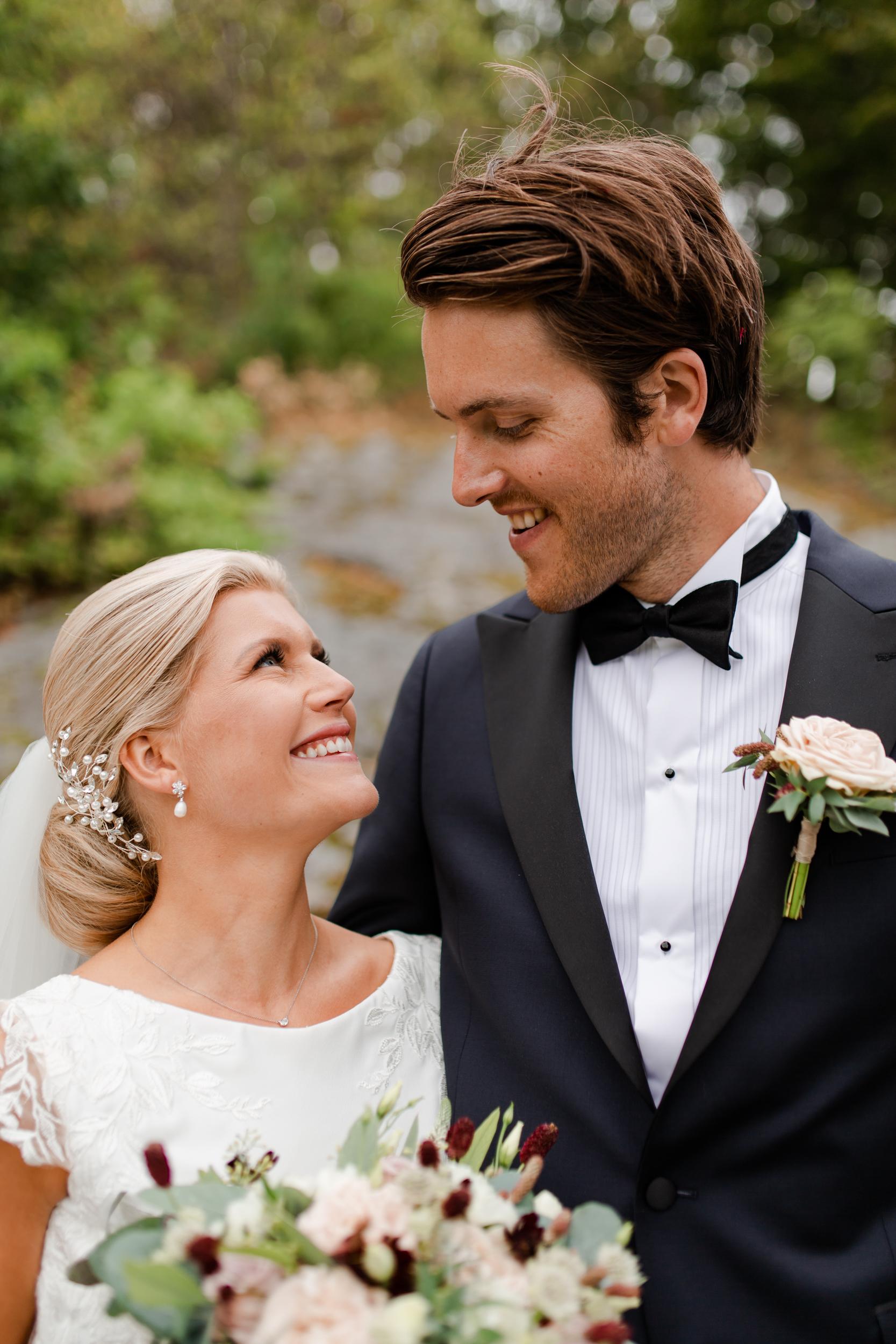 Bröllopsfotografering på Aspenäs Herrgård