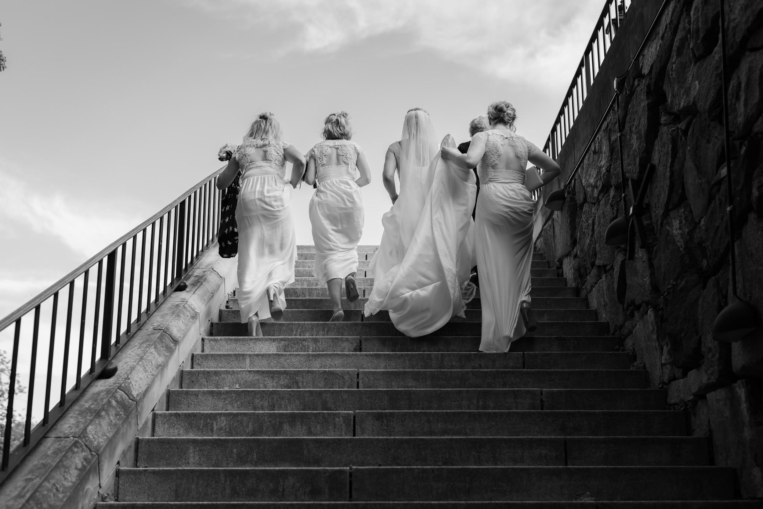Bröllopsfotografering på Ulfsunda Slott