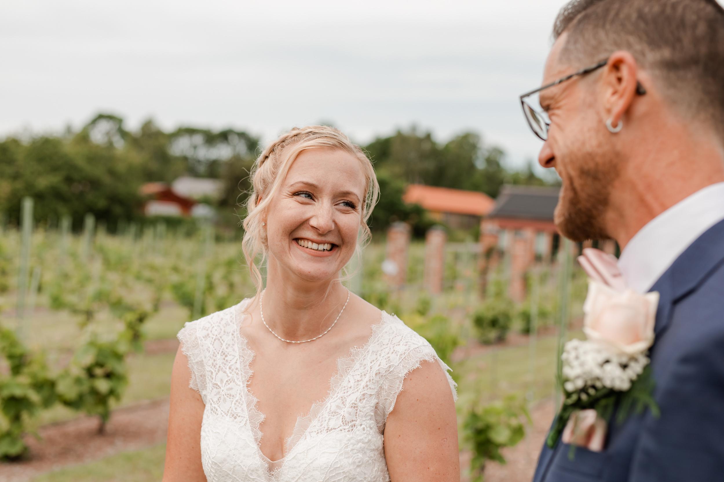 Bröllop på Åmund vingård