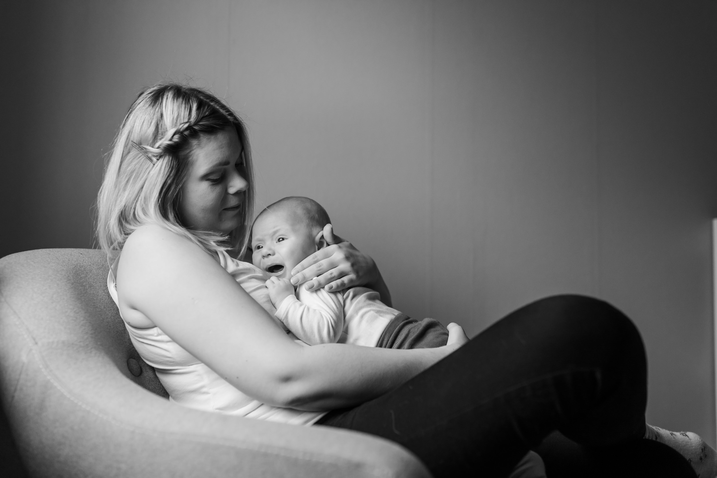 Nyföddfotograf i Småland