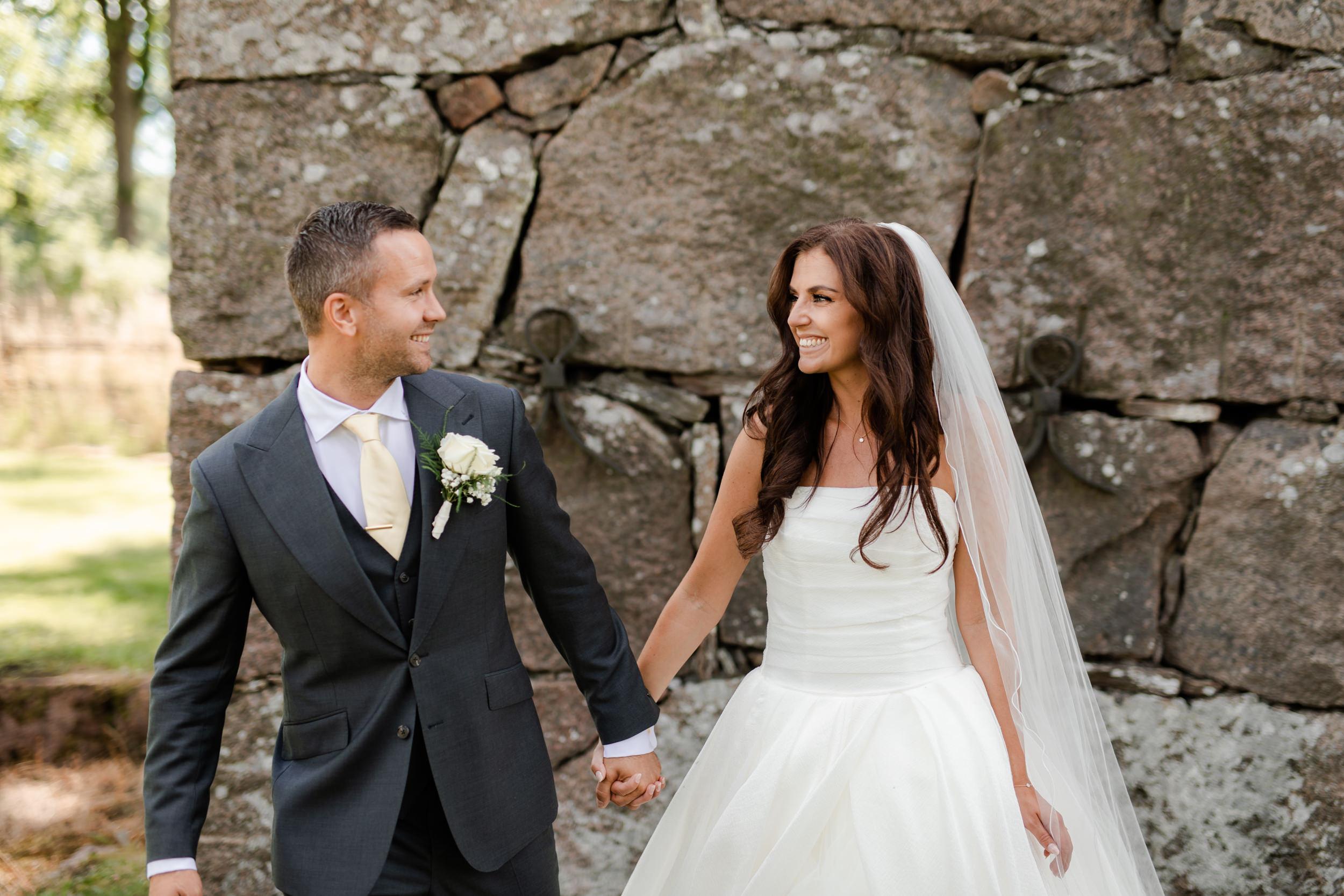 Bröllopsfoto i Målilla